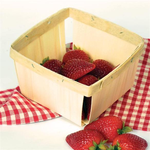 Ready to pick your own berries? The baskets are ready - at Lehmans.com and our store in Kidron, Ohio.