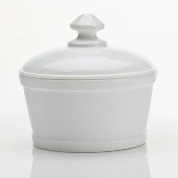 Glass Butter Tub