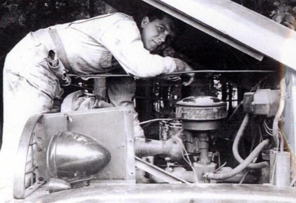 Jay Lehman, circa 1951
