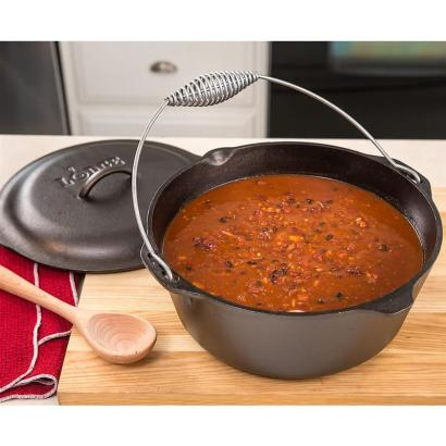 dutch oven with chili