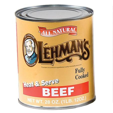 Always be prepared to cook hot, wholesome meals with our delicious canned meats! At Lehmans.com.