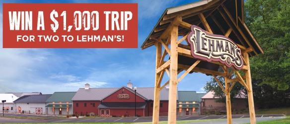 Lehman's Amish Country Giveaway