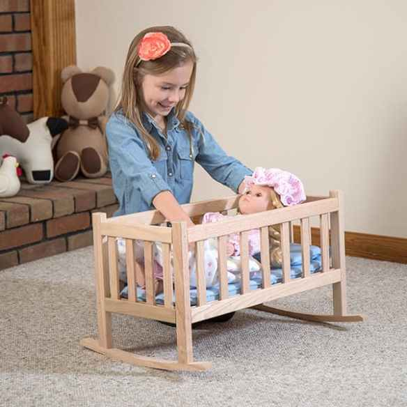 eli and mattie doll cradle