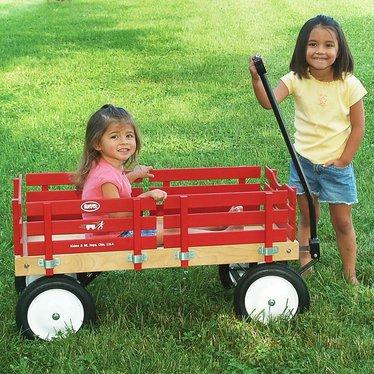 lehman's flyer wagons