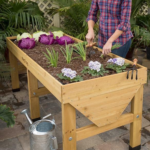 classic vegtrug elevated garden bed