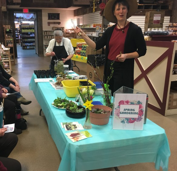 Garden Class at Ladies' Night