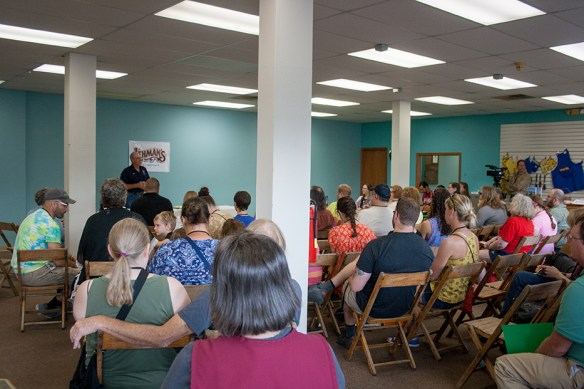 Joel Salatin at Country Living Workshop