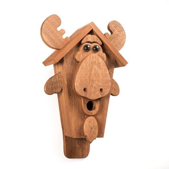 moose birdhouse