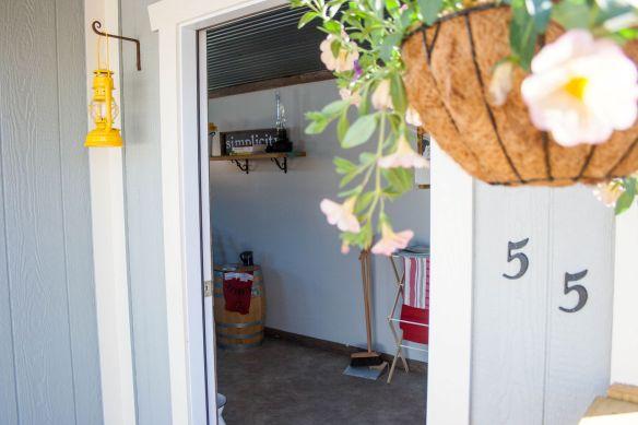 tiny house open door