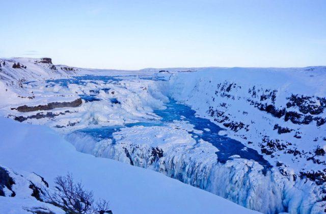 cascades de Gullfoss