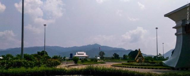 Poste frontière thaïlandais