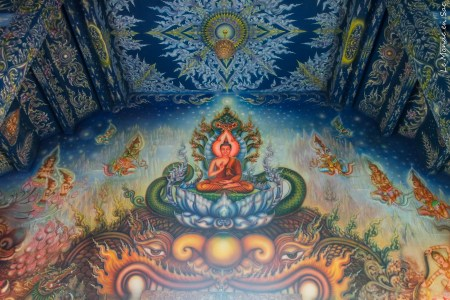 mur blue temple chiang rai