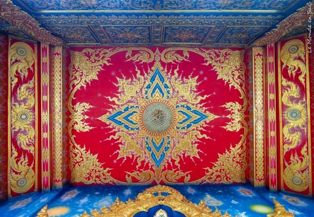 plafond blue temple chiang rai