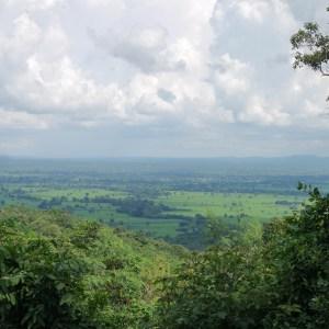 vue Prasat Phanom Rung