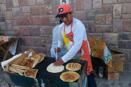 tortilla à la parilla