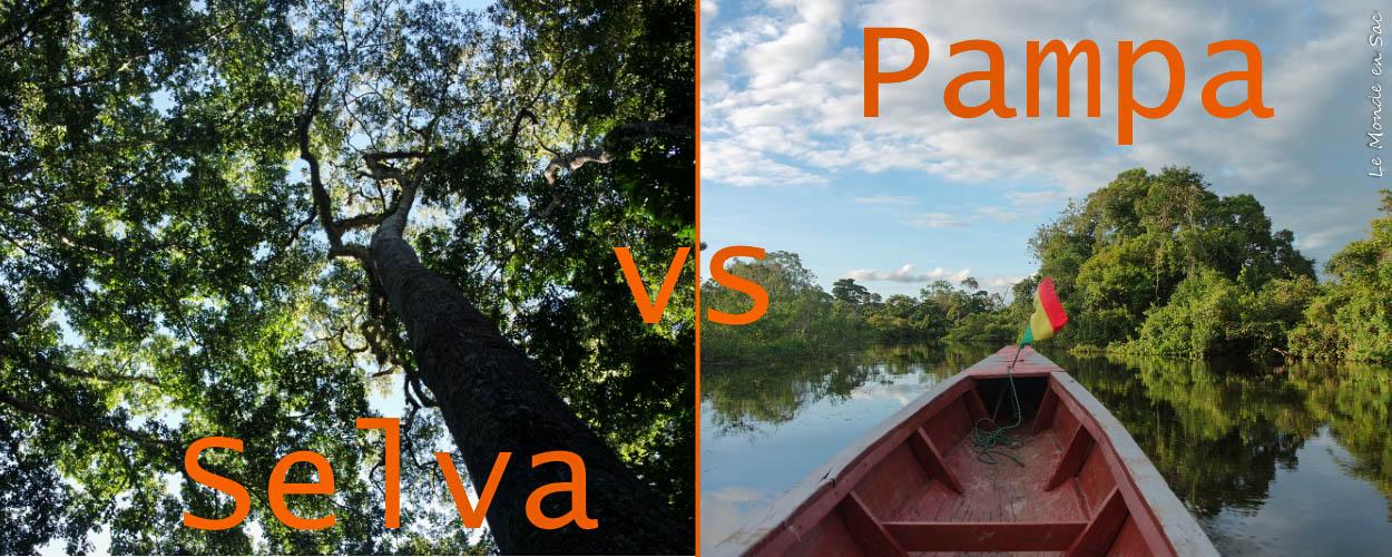 choix pampa ou selva rurrenabaque