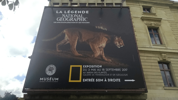 LeMondeLibre-National géographic - La légende National Geographic - paris affiche