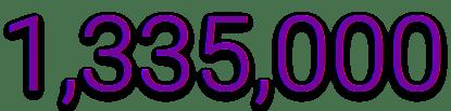 1335000 orders