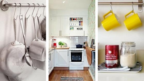 Cucina piccola come arredarla 7 idee salvaspazio