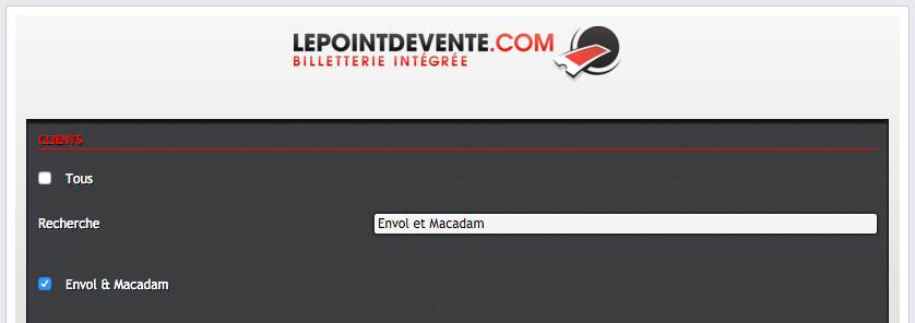 Lepointdevente.com - Application Facebook