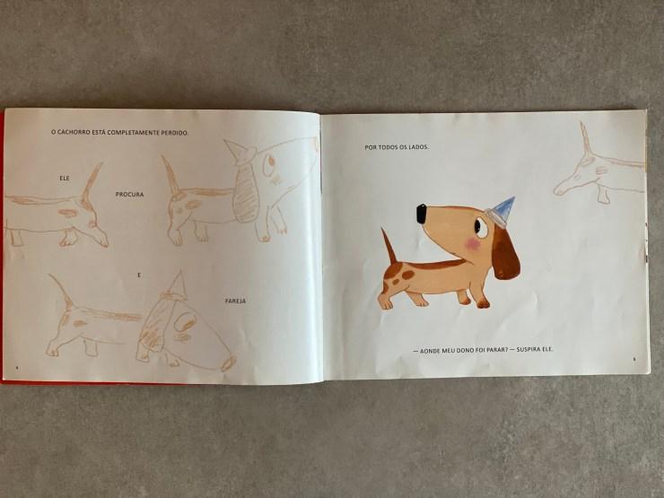 livro O cachorro perdido