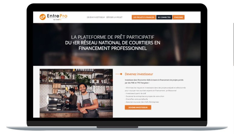CrediPro renforce son partenariat avec Les Entreprêteurs