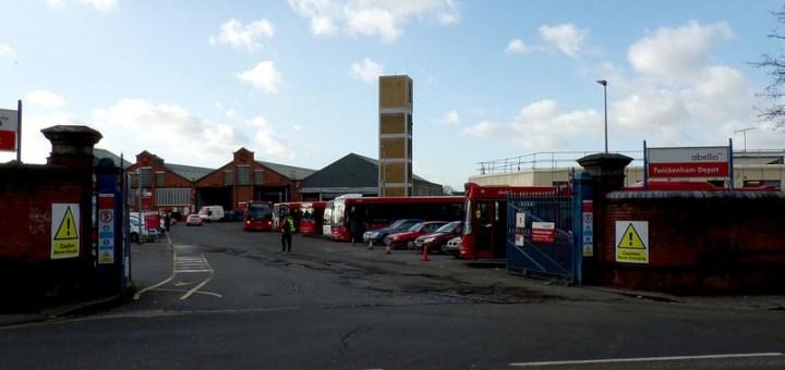 Abellio London Fulwell (Twickenham) Bus Garage