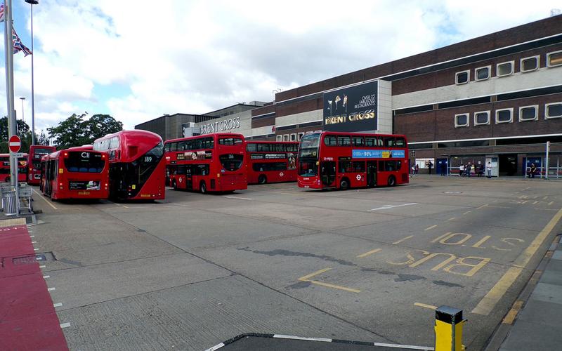 Transport for London Brent Cross Bus Station