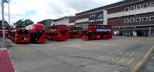 Transport for London Brent Cross Bus Station
