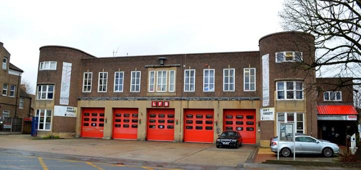 London Fire Brigade (A34) Edmonton Fire Station