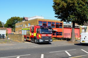 London Fire Brigade Mercedes Benz Atego 1327 WX17 YJK