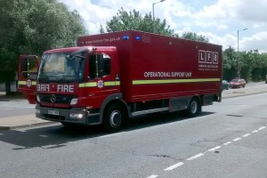 London Fire Brigade Mercedes Benz Atego AE07 HXR