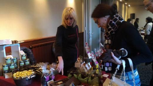 Chocolaterie des Bauges - Marché des Trésoms Annecy