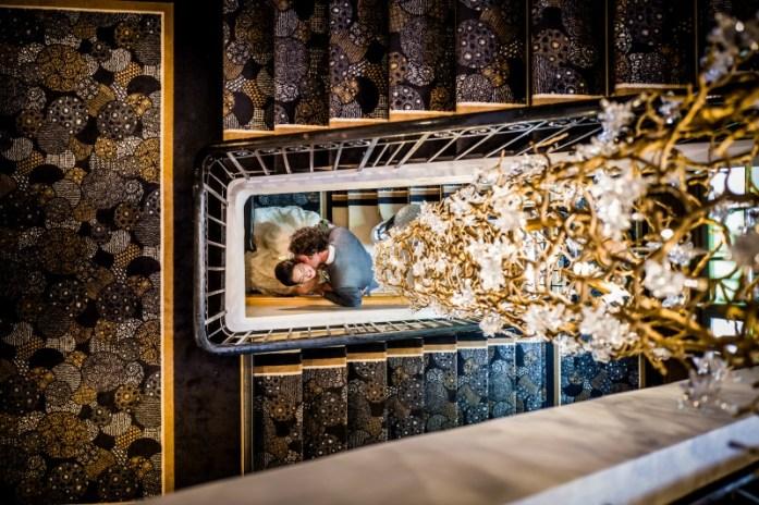 Lustre Serip - Décoration d'intérieur - Hôtel Les Trésoms Lac Annecy
