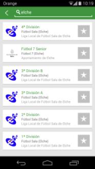Ligas de Elche en LEVERADE (Android)