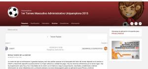 Ejemplo de web en LEVERADE