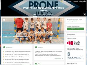 web torneo deporte base lugo