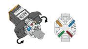 How to Terminate Atlas-X1™ UTP Connectors > Network