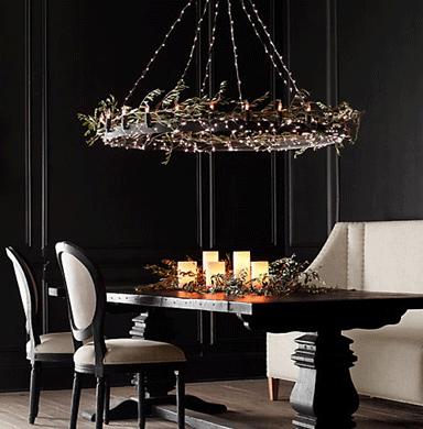 Unique Lighting Ideas For Christmas > Home Improvement