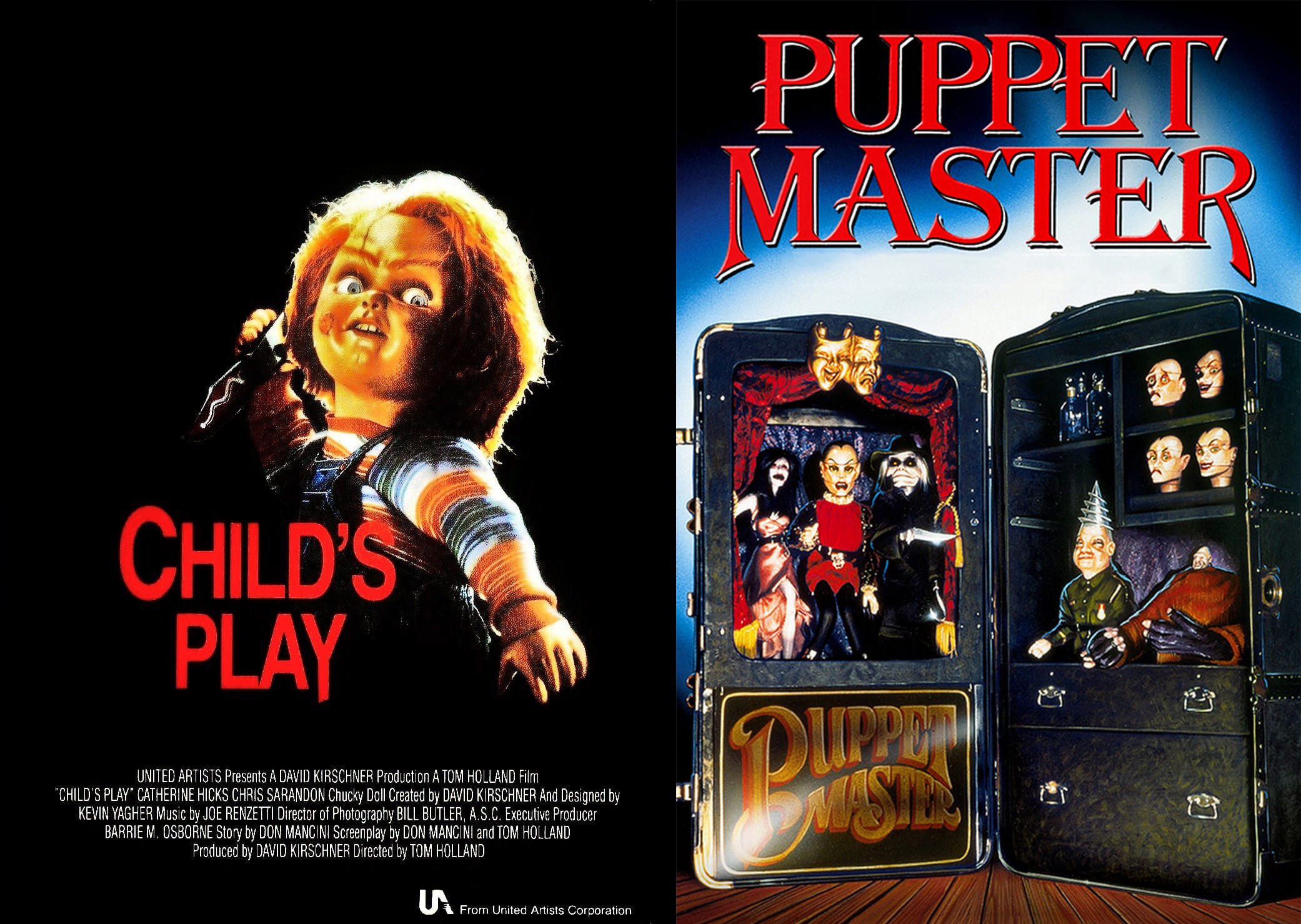 Child's Play/Puppet Master.