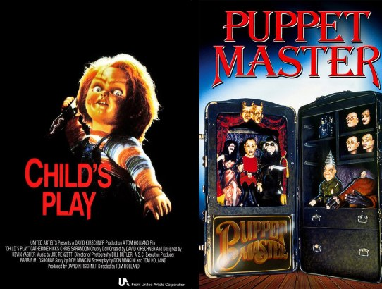 2018 31 Days of Scary Movies - October 26 - Child's Play and Puppetmaster