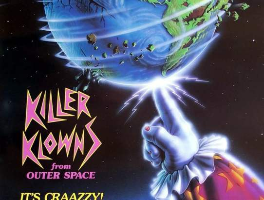 2018 31 Days of Scary Movies - October 28 - Killer Klowns from Outer Space