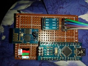 Arduino pin 2 for DHT22, 13 for relay.