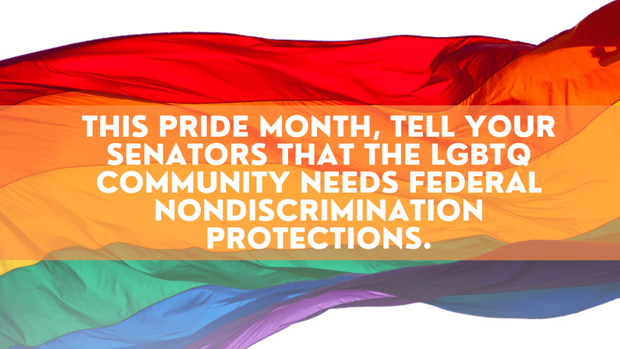 Protect the LGBTQ+ Community from discrimination