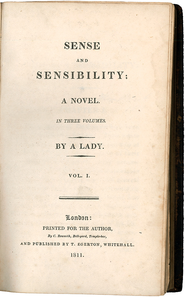 Sense and Sensibility  News  Announcements