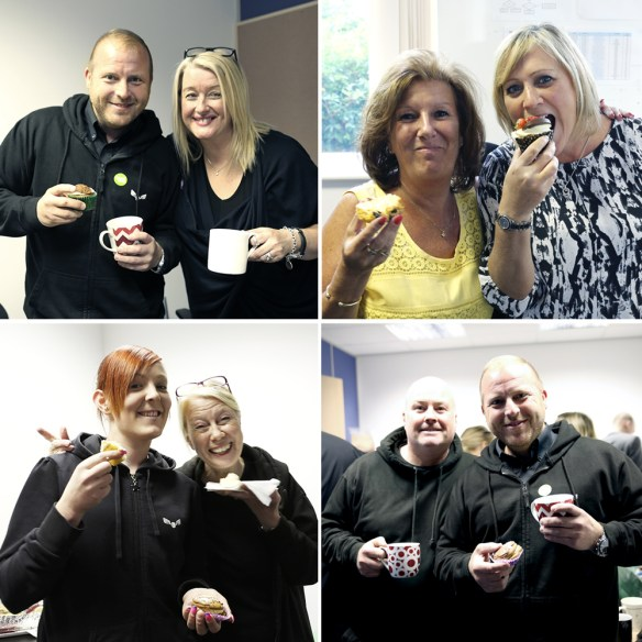 Liberty-Flights-Macmillan-cakes-coffee-morning-staff