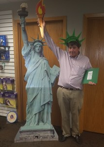 Francis_statue_of_liberty