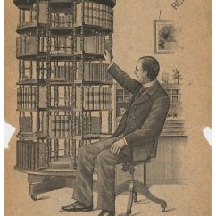 Revolving Chair For Office Folding With Canopy The Challenge Of Shelving Books – Smithsonian Libraries Unbound