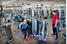 Fitness GYM - Eine Maschine für jeden Muskel. Foto © Dietrich Hackenberg