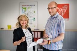 Bundesweit einmaliger Studiengang in Dortmund zur Ausbildung von studentischen Integrationshelfern. Foto Dietrich Hackenberg